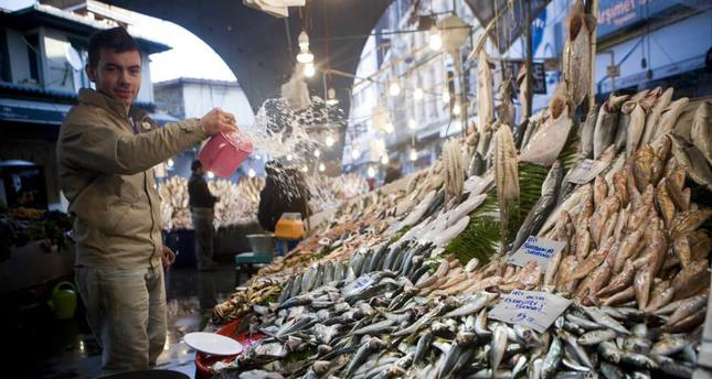 Located under a triangular modern dome, the Beşiktaş Fish Market runs everyday. Photo credit: Suheda Aykut