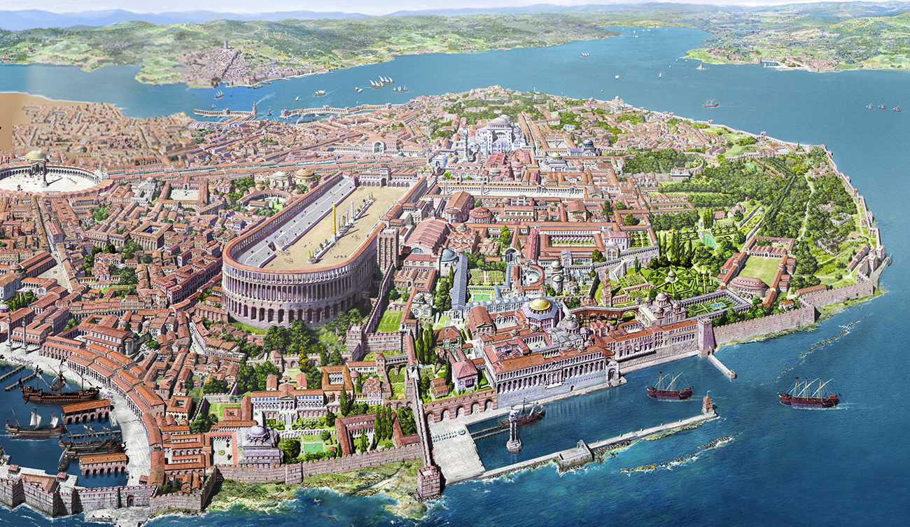 Center of Byzantine Istanbul: Hippodrome of Constantinople