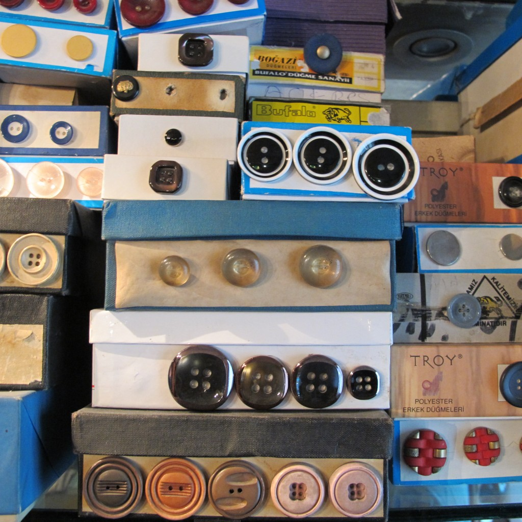 Old and nostalgic buttons at Civan