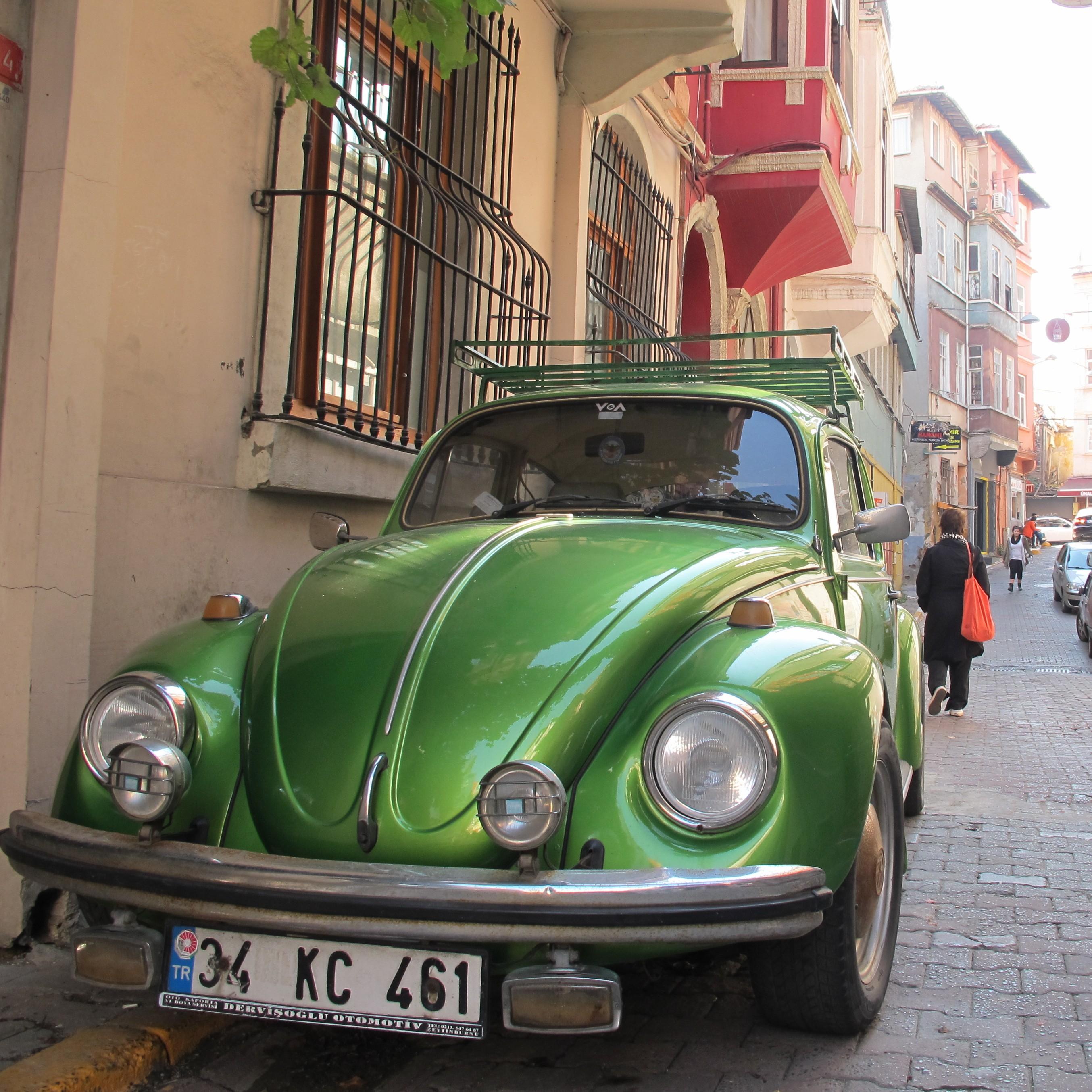 Volkswagen Beetle, Cukurcuma Street